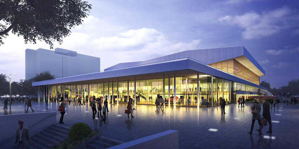 Stadthalle Rostock Umbau
