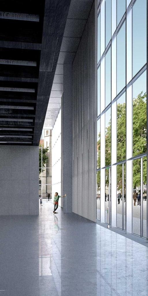 Neubau Bauhaus Museum Dessau Veranstaltungs und Museumsbauten Komplexe Gebäudeplanung